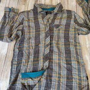 Vans flannel shirt